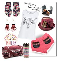 """""""TRIBALOVER"""" by wanda-india-acosta ❤ liked on Polyvore featuring Havaianas, Matthew Williamson and tribalover"""