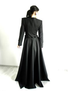 rebecca jacket with removable skirt by lauragalic on Etsy, $320.00
