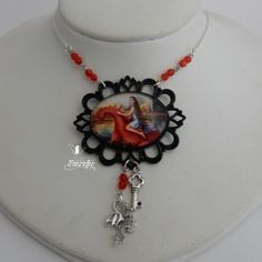 Dragon Princess of The Red Keep necklace