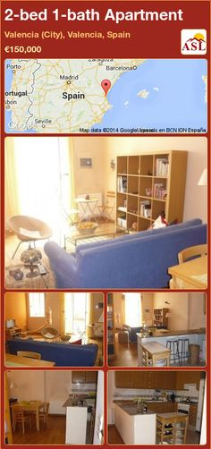 2-bed 1-bath Apartment in Valencia (City), Valencia, Spain ►€150,000 #PropertyForSaleInSpain