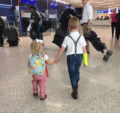 Traveling with little kids.