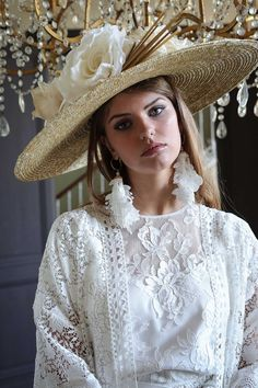 Collection Couture, Cowboy Hats, Manon, Wedding, Woman, Fashion, Valentines Day Weddings, The Beach, French Lace