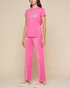 469199185 Juicy Couture · Luxe Crown Tee and Velour Mar Vista Pant Set l #getjuicy  Looking For Women,