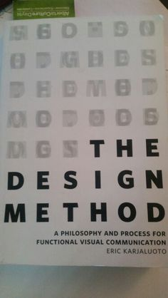 "If you do anything that involves design, or if you ever plan on working with a designer of any kind (hint, you probably will), give this book a read! ""Although these pursuits (art and design) may overlap the are- for the most part- completely different disciplines."""