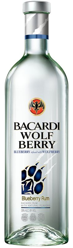 Bacardi Wolf Berry  Next on the list to try
