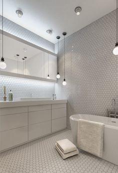 3 ötletadó kis lakás 50m2 alatt - üvegfallal leválasztott hálószobák, szép fa felületek