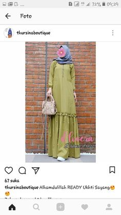 Hijab Dress Party, Hijab Style Dress, Casual Hijab Outfit, Indian Fashion Dresses, Abaya Fashion, Kebaya Muslim, Muslim Dress, Islamic Fashion, Muslim Fashion