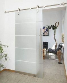 Installing interior barn door hardware can transform the look of your room. Read these steps in buying interior barn door hardware. Sliding Glass Barn Doors, Sliding Door Design, Sliding Door Hardware, Door Hinges, Glass Doors, Sliding Wall, Window Hardware, The Doors, Entry Doors