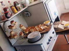 Enjoy the most important meal of the day at 3 Guesthouse. Antique Stove, Pretoria, Breath In Breath Out, Recipe Of The Day, Platter, Breakfast Ideas, Meals, Beautiful, Meal