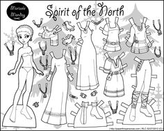 Marisole Monday: Spirit of the North in Black and White