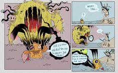 Ten Deadly Tasks Page 50 - Ten Deadly Tasks Hero, Comics, Cartoons, Comic, Comics And Cartoons, Comic Books, Comic Book, Graphic Novels, Comic Art