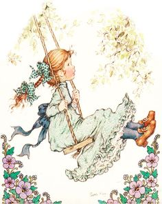 """Photo from album """"Sarah Kay"""" on Yandex. Sarah Key, Holly Hobbie, Australian Artists, Illustrations, Cute Illustration, Vintage Pictures, Retro Images, Vintage Children, Coloring Pages"""