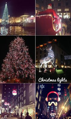 My festive checklist - London Christmas lights