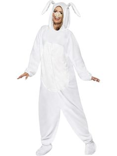 Ideal for animal themed fancy dress parties, along with festivals and nights out, the Fancypanda White Rabbit Costume is sure to impress your mates! Funny Costumes, Adult Costumes, Costumes For Women, Costume Shop, Costume Dress, Halloween Costume Accessories, Halloween Costumes, Adult Halloween, Rabbit Fancy Dress