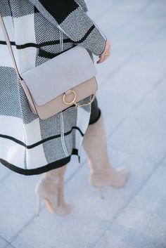 chloe gray faye shoulder bag yesstyle