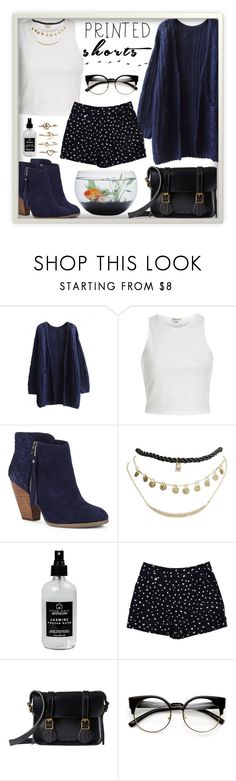 """""""Untitled #43"""" by roxeyturner ❤ liked on Polyvore featuring WithChic, River Island, Sole Society, Wet Seal, Little Barn Apothecary, Marc by Marc Jacobs, Dr. Martens and Bowie"""