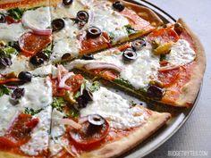 Thin and Crispy Pizza Crust - BudgetBytes.com