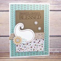 Paisleys and Posies Bundle Sneak Peek Handmade Cards
