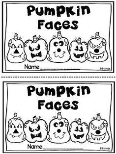 Pumpkin Faces / Adjectives / Feelings by BB Kidz Fall Preschool, Preschool Curriculum, Kindergarten Worksheets, Kindergarten Classroom, Classroom Ideas, Emotional Support Classroom, Pumpkin Facts, Halloween Activities, Thanksgiving Activities