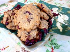 SPLENDID LOW-CARBING BY JENNIFER ELOFF: CHOCOLATE CHIP CRANBERRY COOKIES AND CRANBERRY RAISINS