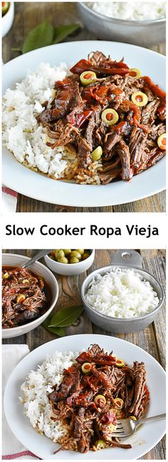 Venison roast, tomato paste, bay leaves, cumin, oregano, apple cider, Chipotle peppers (3), garlic, onion, and salt in the slow cooker. Cook for at least 8 hours, shred, add olives, a splash of vinegar, and serve with cauliflower rice.