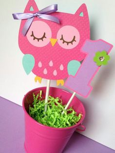 Owl Cake Topper, Owl Smash Cake Topper, Owl Birthday Party, Owl Party Decor, Owl First Birthday Owl Themed Parties, Owl Parties, Owl Birthday Parties, Birthday Party Decorations, Owl Cake Toppers, Birthday Cake Toppers, Owl Centerpieces, Owl 1st Birthdays, Baby Girl First Birthday