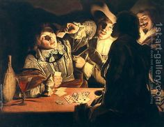 Card Games Oil Paintings. Oil Painting Reproductions from 1st-