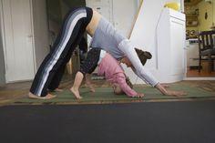 Yoga posture chien tête en bas