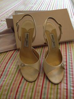 Jimmy Choo Ivory shoes