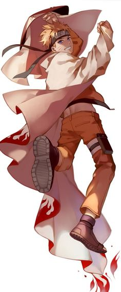 Finally became a hokage The SEVENTH hokage, the dumbass from team SEVEN, at the end of ch. SEVEN hundred...