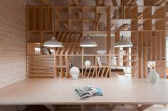 Дизайн интерьера для студента архитектуры от Ruetemple