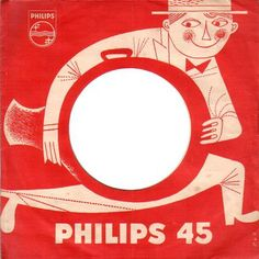 Dutch 45 record cover (50s).