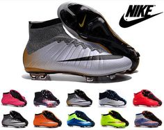 Nike Mercurial Superfly 4 FG Kids Soccer Shoes Boots mens CR7 Cleats Laser  Youth Women Boy s 2ab48fad7