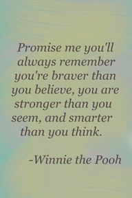 Winnie the Pooh quotes Cute Quotes, Great Quotes, Fantastic Quotes, Baby Quotes, Awesome Quotes, Tatoo Heart, 365 Jar, Encouragement, Motivational Quotes