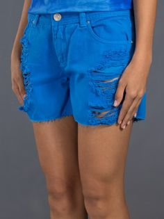 MOB - Shorts azul 8