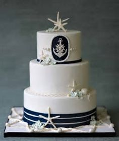 Image result for nautical cake ideas