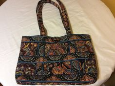 A personal favorite from my Etsy shop https://www.etsy.com/listing/495867840/retired-vera-bradley-chocolate-tote