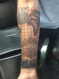 map tattoo designs (97)