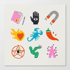 Tatto Mini, Psychedelic Drawings, Doodle Tattoo, Canvas Prints, Art Prints, Sticker Design, Emoji, Illustration, Doodles