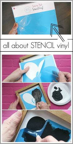 All About Stencil Vinyl | Sugar Bee Crafts
