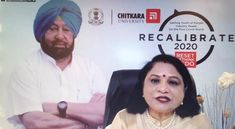 "Chitkara University, organised the first-ever Virtual Round Table Discussion ""RECALIBRATE 2020 – Getting the youth of Punjab industry ready for the post-COVID world"" on September 9, 2020, which was chaired by Chief Minister of Punjab, Captain Amarinder Singh."