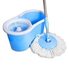 9. Ohuhu Spin Mop and Bucket System