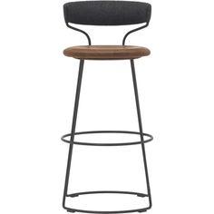 Danish Cord Swivel Bar Stool McGuire Furniture