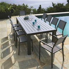 Table de jardin alu Naterial Antibes 220 : Présentation, montage et ...