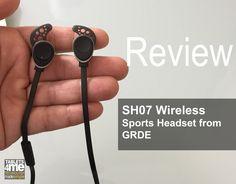 SH07 Lightweight Stereo Sports Bluetooth Earphones from GRDE