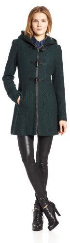 $99, Basketweave Wool Coat With Toggles by Jessica Simpson. Sold by Amazon.com. Click for more info: http://lookastic.com/women/shop_items/25361/redirect