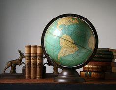 Vintage  globe Cram's Universal globe by cristinasroom on Etsy.