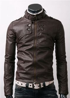 #Handmade #Motorbike #Slim_Fit #Genuine #Leather_Jacket Dark Brown Color, Dark Brown Leather, Soft Leather, Sharp Dressed Man, Well Dressed Men, Brown Jacket, Jacket Men, Estilo Rock, Look Man