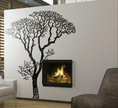 Tree of Life Wall Decal. Need this in my elephant room.