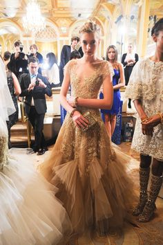 Marchesa fall 2012 rtw backstage